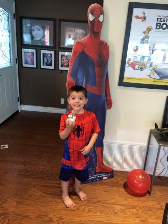 spidermanbirthdaystandee